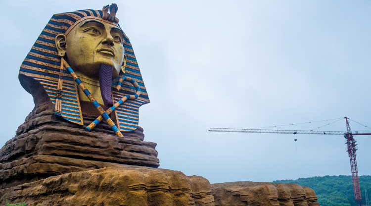 WATCH: The Great Sphinx of China