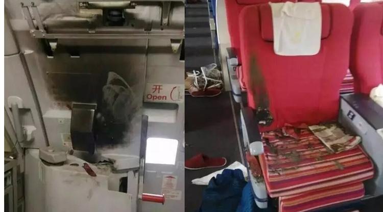 Passenger starts fire on board Shenzhen Airlines flight