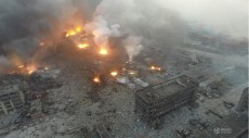 Deadly explosions devastate Tianjin after chemical warehouse blast