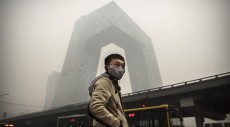 Map shows worst places in China for air pollution