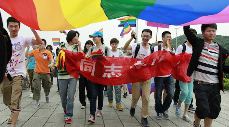 Lesbian student sues China's education ministry over textbooks calling homosexuality a disorder