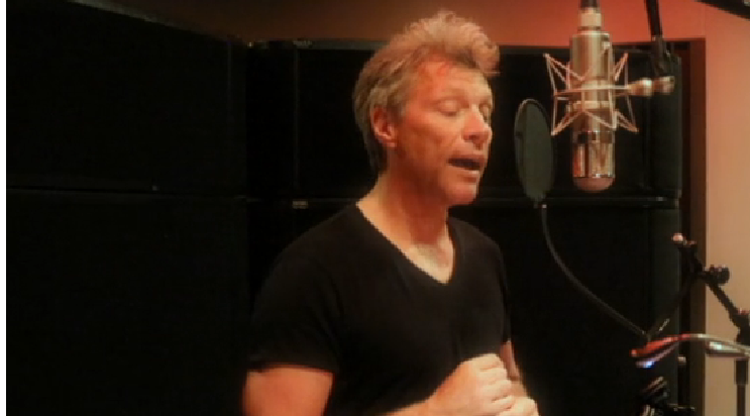 WATCH: Jon Bon Jovi sings in Mandarin for Chinese Valentine's Day