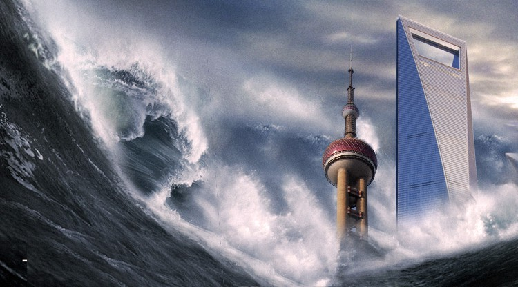 Town Crier! Shanghai set for more rain and flooding thanks to Typhoon Goni