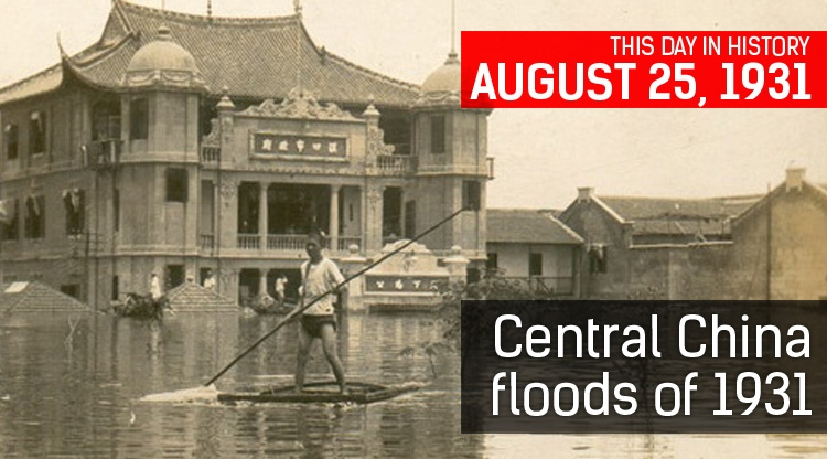 This Day in History: The Central China Floods of 1931