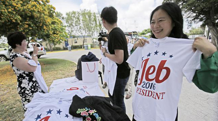 Jeb Bush's awkward swing at Chinese birth tourists angers everyone except Chinese people