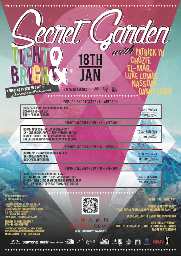 Event Rad Vibes At Secret Garden Snow And Music Festival